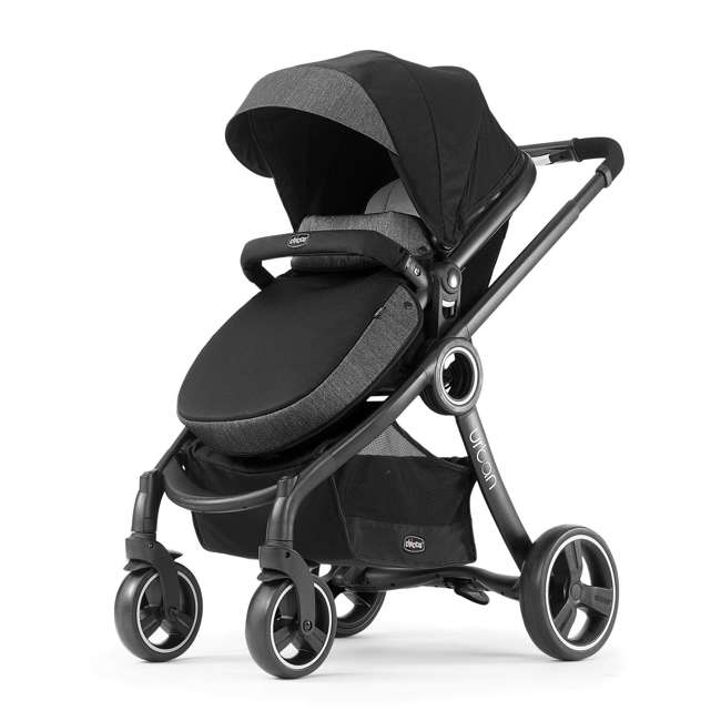 CHI-0807909902 Chicco Transformable Stroller and KeyFit Rear-Facing Infant Car Seat and Base 1