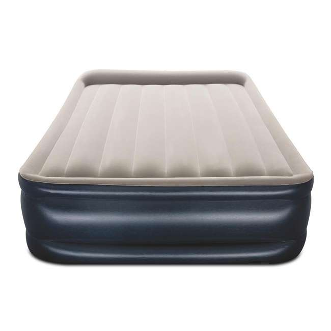 67631E-BW-U-B Bestway Tritech Inflatable 18 In Air Mattress w/ Built In AC Pump, Queen (Used) 2