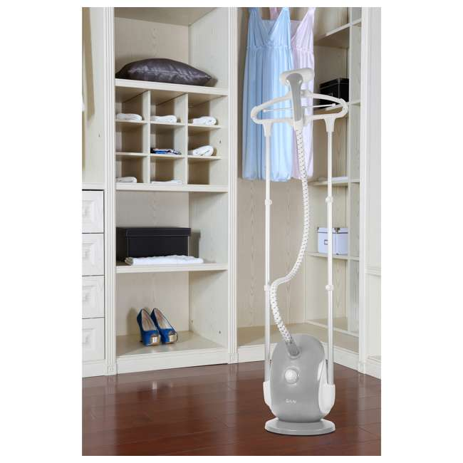 GS68-BJ-GRAY-U-C Salav Professional 4 Setting Dual Wide Bar Clothes Garment Steamer (For Parts) 7
