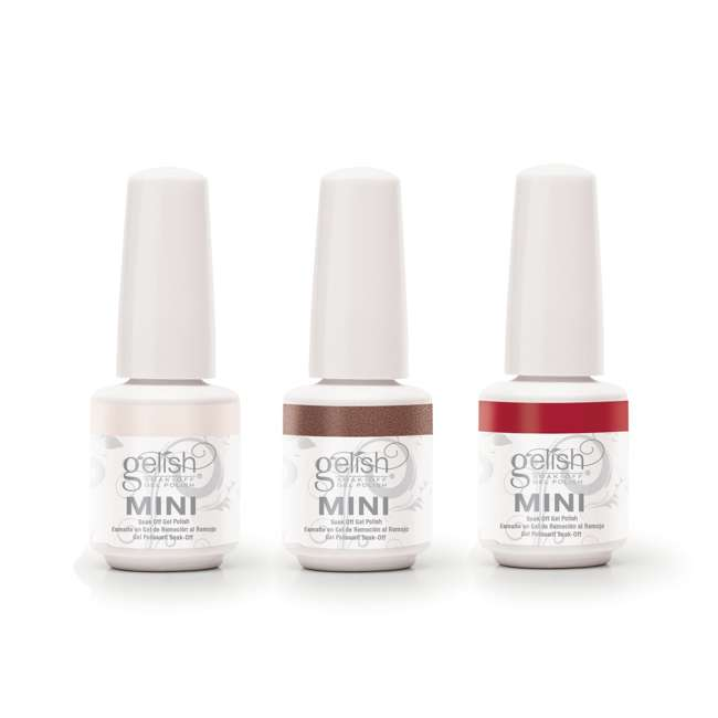 1900202-MARILYN3P-2 Gelish Mini Soak Off Gel Nail Polish Forever Marilyn Collection 3 Colors, 9mL