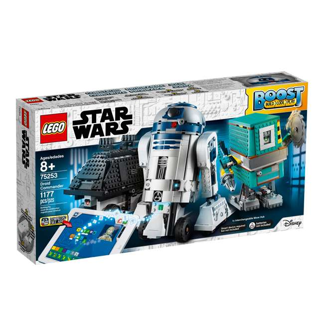 6251933 LEGO BOOST 75253 Droid Commander Block Building Kit w/ 3 Star Wars Robot Toys 2