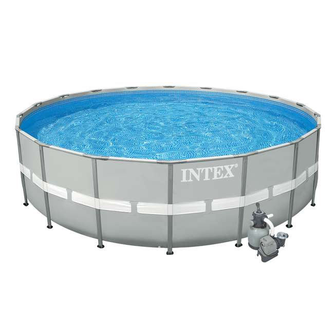 Intex 20 39 X 52 Inch Ultra Frame Swimming Pool Set With
