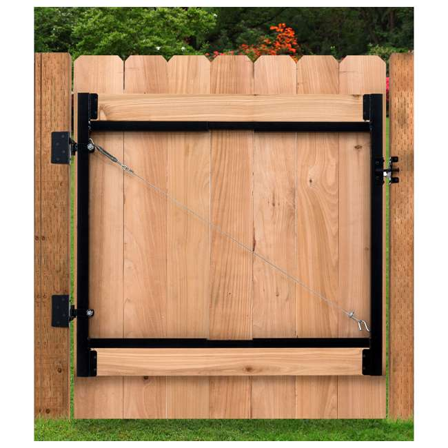 "AG60-36-U-A Adjust-A-Gate Gate Building Kit, 60-96"" Wide Up To 4' High(Open Box) (2 Pack) 1"