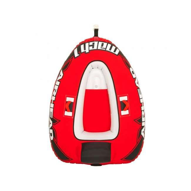 AHM1-2 Sportsstuff Mach 1 Inflatable Single Rider Towable Tube  2