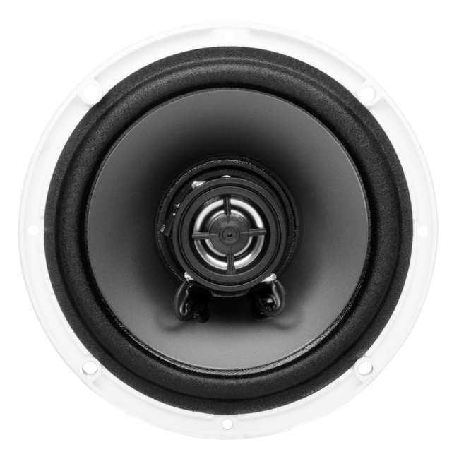 8 x MR50W Boss Audio MR50W 5.25-Inch 2-Way 150W White Marine Speakers  (8 Pack) 4