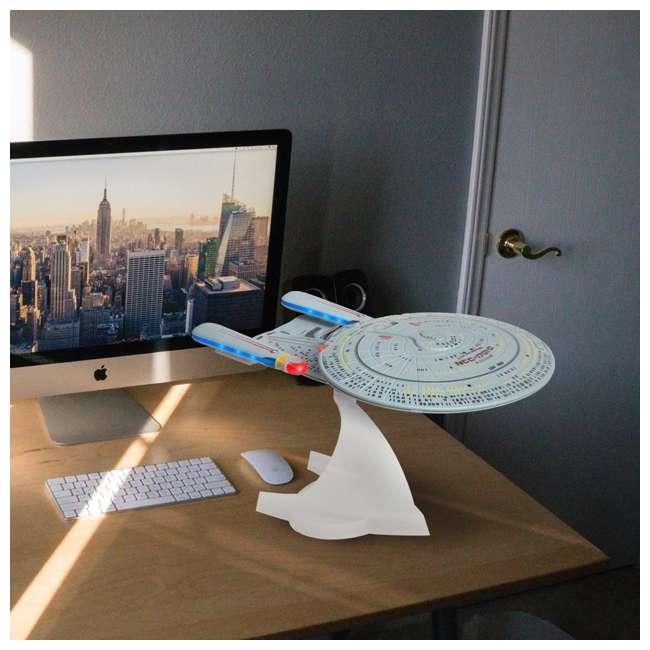ST-ENTD Fametek Star Trek Enterprise 1701-D Bluetooth Speaker & Sleep Machine 7