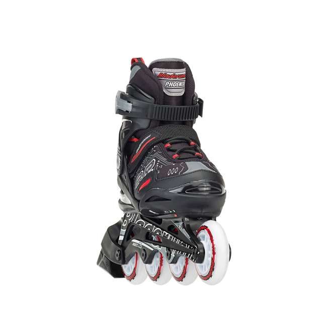 0T817100741-M Rollerblade Bladerunner Phoenix Boys Adjustable Skate, Size 1-4 2