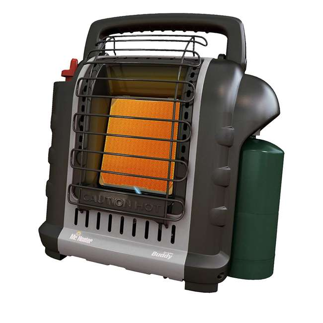 MH-F232017 + MH-13432 Mr. Heater MH-F232017 Portable Buddy Indoor/Outdoor Propane Heater & Carry Bag 1
