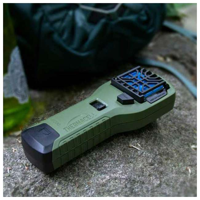 MR300G Thermacell MR300G Cordless Portable Mosquito Insect Bug Repellent, Olive Green 1
