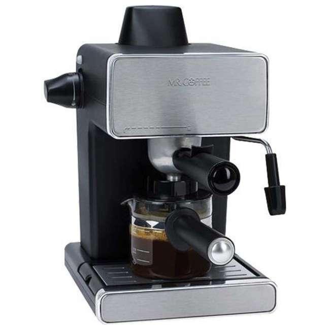 BVMC-ECM260 Mr. Coffee BVMC-ECM260 Steam Espresso Machine Frother, Stainless Steel/Black