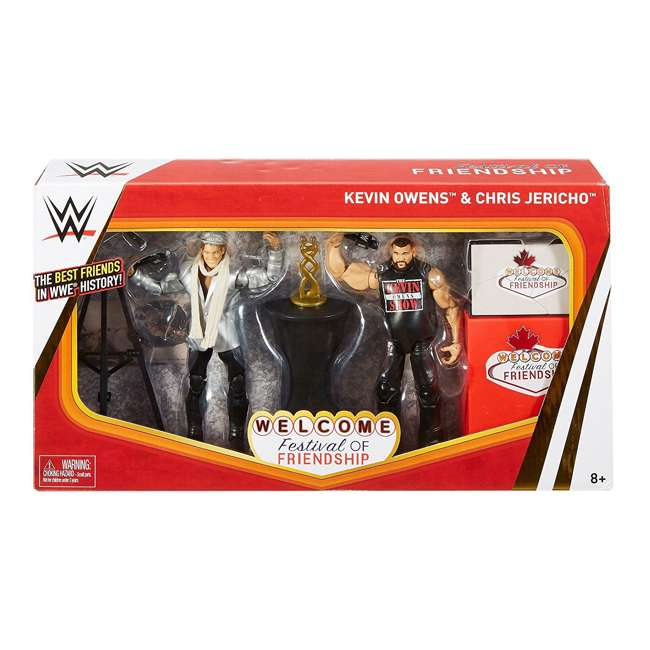 FRX45 WWE Epic Moments Festival of Friendship 2 Figure Play Set 2