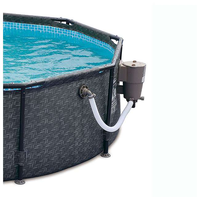 P2001448E167 + K2006 Summer Waves 14 Ft Pool Set w/ Taylor Water Test Kit 4