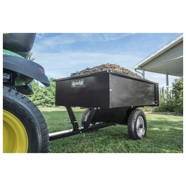 45-0101 Agri-fab Tow Style Steel Dump Cart with 750 Pound Capacity 7