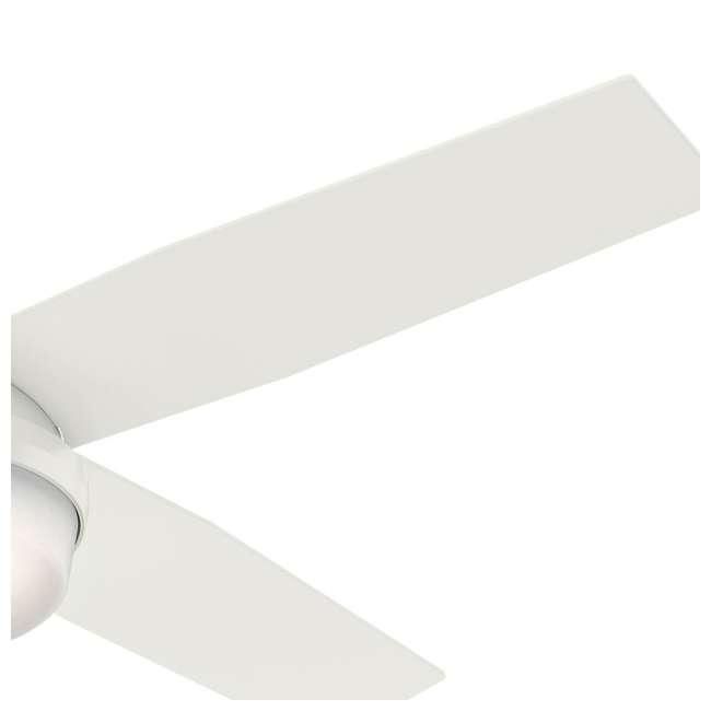 59242 Hunter Fan Company 59242 Dempsey 52 Inch Low Profile Ceiling Fan and Remote, Oak 4