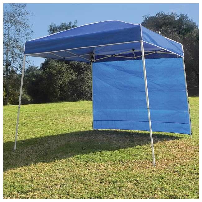 ZS10ALTSWBL Z-Shade 10 x 10-Foot Canopy Tent Taffeta Sidewall Accessory, 2-Pack 3