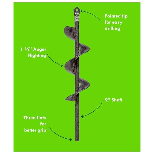 IRT-1 Yard Butler RT-1 9-Inch Roto Driller for 3/8-Inch Drills 5