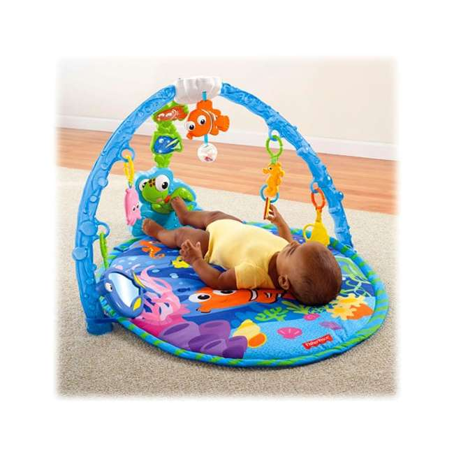 Fisher Price Disney Finding Nemo Musical Gym Y5591