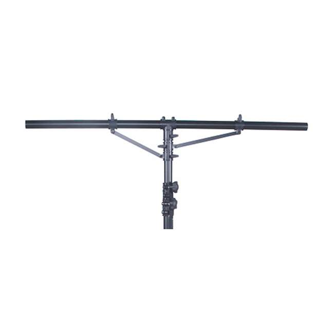 LTS-2-U-B LTS-2 Aluminum Black Heavy Duty 12 Ft Tripod T-Bar Light Stand (Open Box)  3