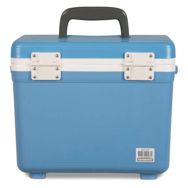 UC7B Engel 7.5-Quart EVA Gasket Seal Ice and DryBox Cooler with Carry Handles, Blue 3