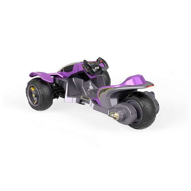 FLC34  Power Wheels Kids Electric Mini ATV Boomerang Ride-On , Purple 3