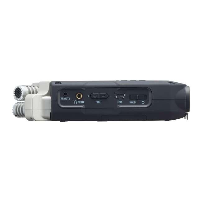 ZH4NPRO + TH02-B + SD4-16GB-SAN Zoom H4n Pro Digital Multitrack Recorder + TASCAM Headphones + Memory Card 6