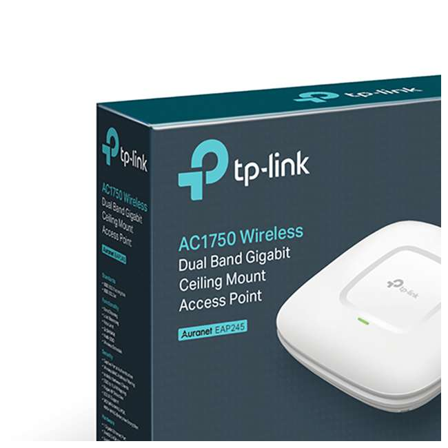 10 x TPL-EAP245 TP-Link AC1750 Wireless Dual Band WiFi Access Point (10 Pack) 5
