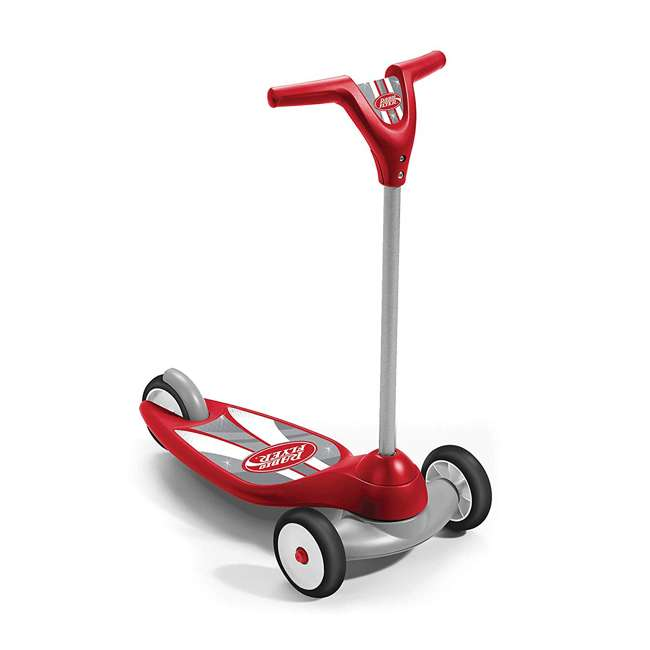 539S Radio Flyer 539S My 1st Scooter Stable 3 Wheeled Sport Ages 2+ Kid Scooter, Red