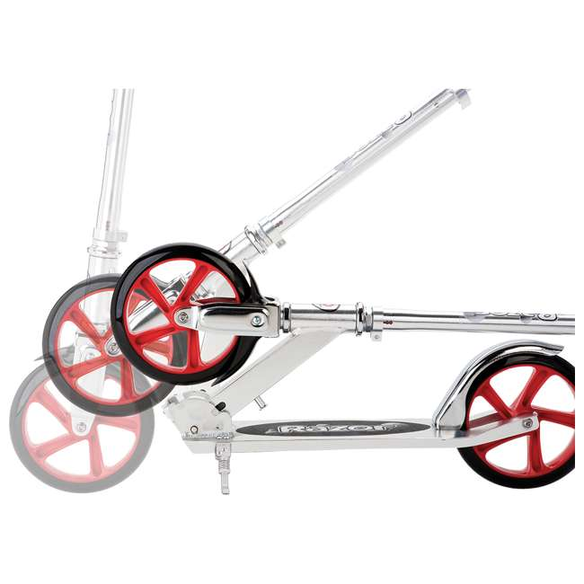 13013201 Razor A5 Lux Kick Scooter - Red 1