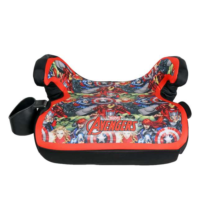 KE-4801AVG Kids Embrace Marvel Avengers Backless Booster Car Seat for Kids 4 Years and Up 3