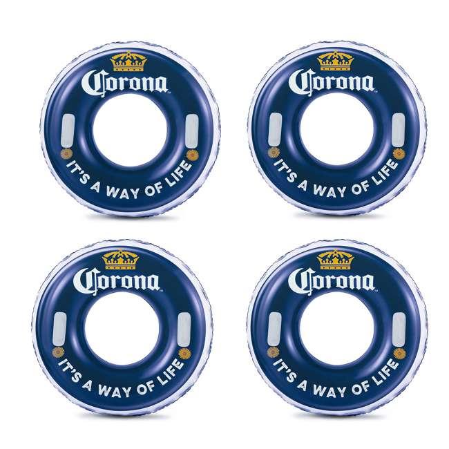 """P43216525167 + 4 x K10423D00167 + KF0226B00167 Summer Waves 32' x 16' x 52"""" Pool Set + Corona Floats + Corona Floating Cooler 6"""