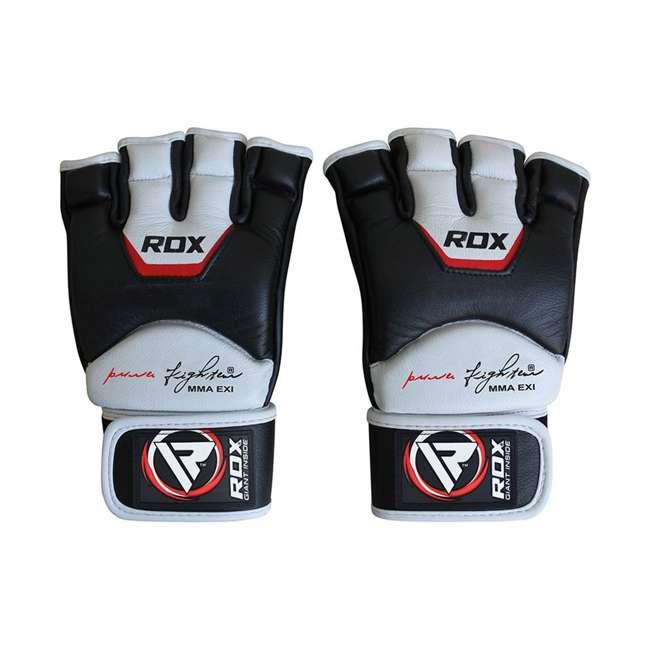GGL-T3W-L RDX T3 MMA Gel Padded Combat Grappling Gloves, Large