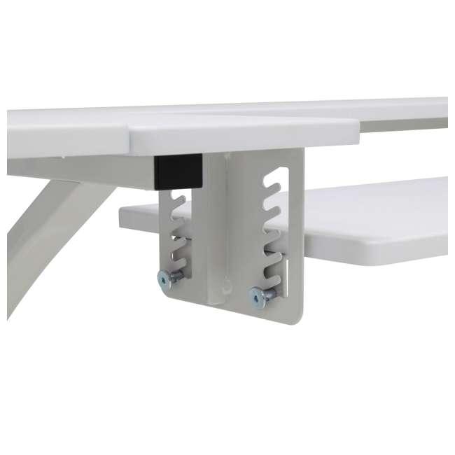 STDN-38017 Sew Ready STDN-38017 Venus Sewing Machine Craft Hobby Table Computer Desk, White 7