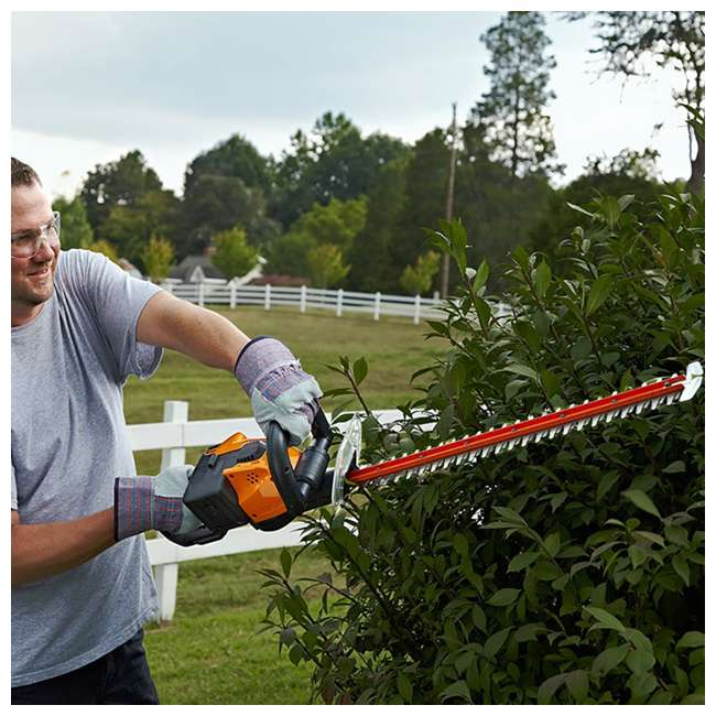 WG291 Worx WG291 56V 24 Inch Lithium Ion Cordless Hedge Trimmer with Battery & Charger 3