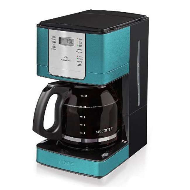 Coffee Maker On Clearance : Mr. Coffee 12-Cup Programmable Coffee Maker, Turquoise : JWX36-AM