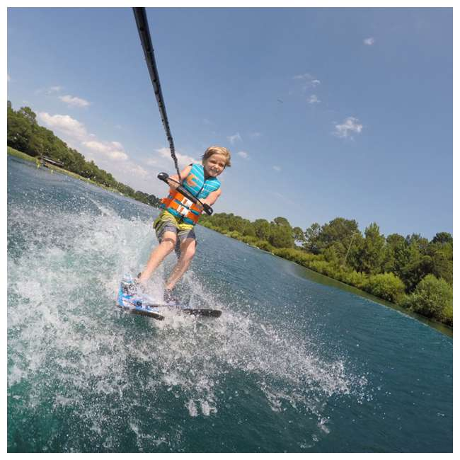61190310-CON CWB Connelly Cadet Kids Combo 45 Inch Water Sports Skis 1