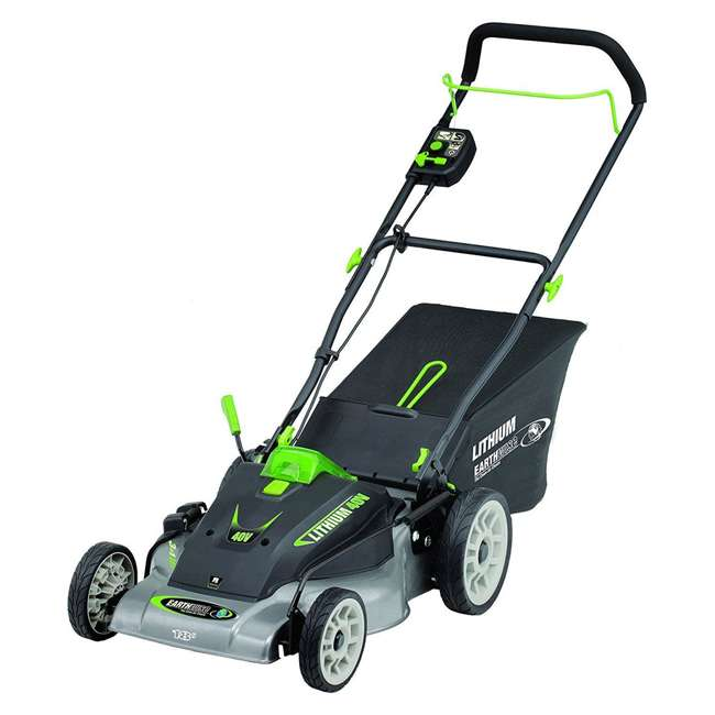 EWISE-60418 Earthwise 18-Inch 40V Lithium Battery Walk Behind Lawn Mower 1