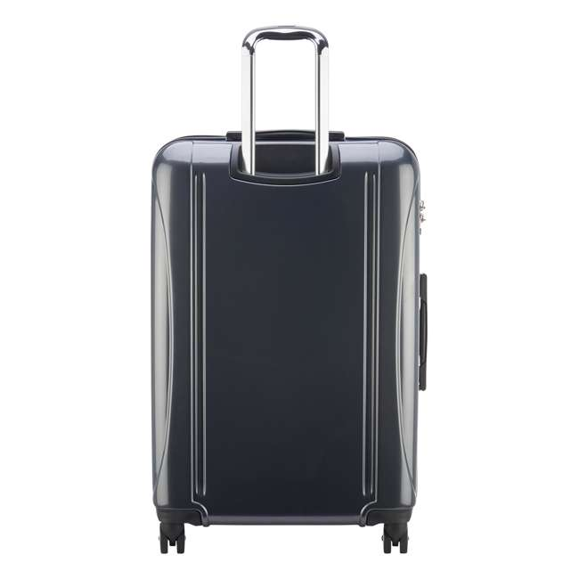 07649PL DELSEY Paris Helium Aero Expandable Rolling Carry On Luggage Suitcase, Gray 2