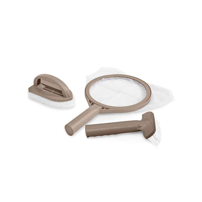 28004E + 28500E Intex PureSpa Hot Tub Attachable Snack Cup Holder & Maintenance Accessory Kit 2