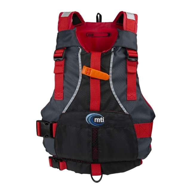 MTI-250D-0KA00 MTI Life Jackets Bob Youth Life Vest, Red