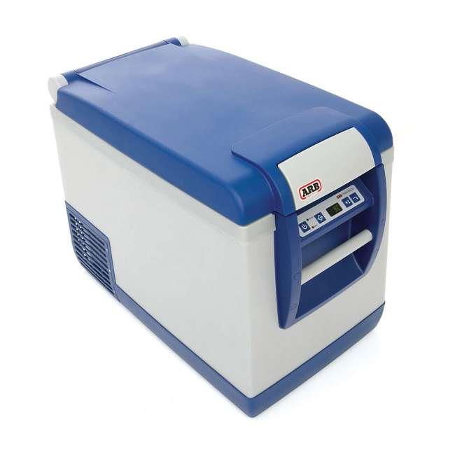 "10800472-ARB + 05059 ARB 50 Quart Car Tailgate Travel Fridge Freezer & Adjustable 40"" to 70"" Ratchet  1"
