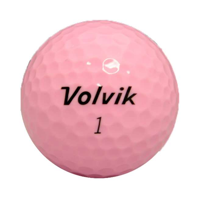 DS-55 (Pink) Volvik DS55 Dual Spin 12 Pack of Golf Balls, Pink 2