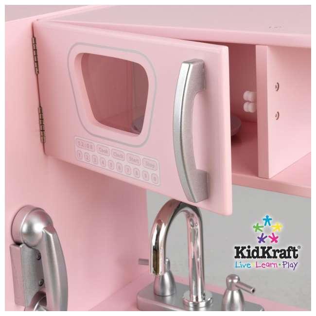 Kidkraft Red Vintage Kitchen 53173: KidKraft Vintage Kitchen (Pink)