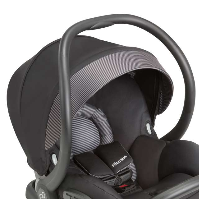 IC160BIZ Maxi-Cosi Mico Max 30 Infant Car Seat, Devoted Black 4