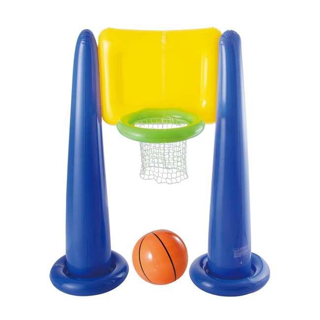 KF0062000167 Big Play Sports Jumbo Inflatable Pool Basketball Hoop Set