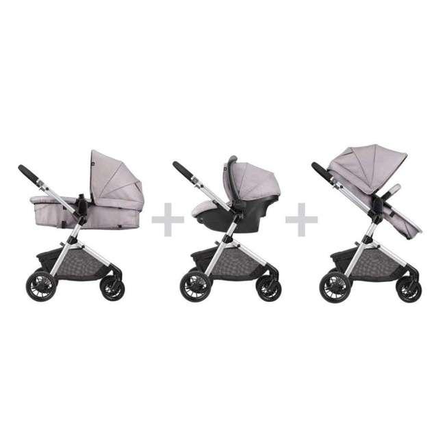 56011993 Pivot Stroller & Car Seat Travel System, Sandstone 2