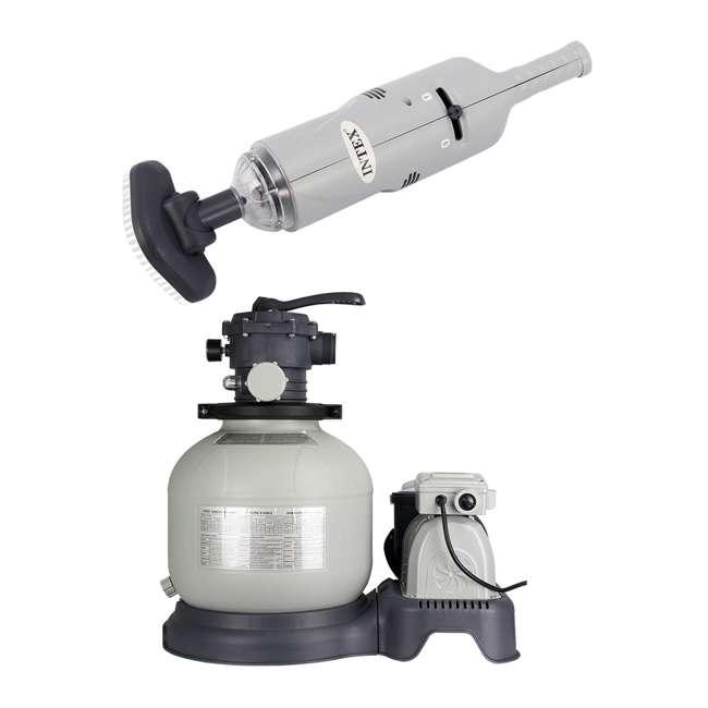 Handheld Rechargeable Pool Vacuum : intex rechargeable handheld pool vacuum sand filter pump 28620e 28647eg ~ Russianpoet.info Haus und Dekorationen