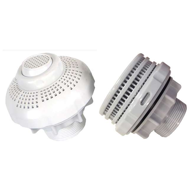 Intex 25015 Large Above Ground Pool Inlet And Outlet Strainer Set 25085rp
