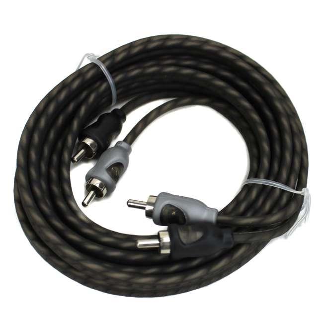 RFI-10 Rockford Fosgate RFI-10 10' Feet Twisted 2 Channel Rca Signal Cable