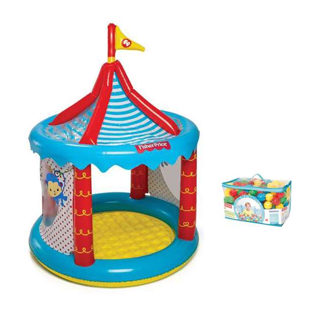 Fisher price circus ball pit fisher price play balls for Ball pits near me