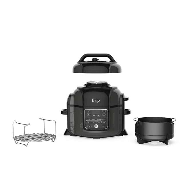 OP302HB_EGB-RB Ninja Foodi 6.5qt Pressure Cooker that Crisps Air Fryer (Certified Refurbished)